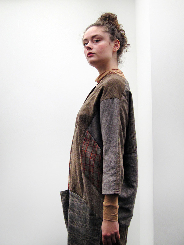 Kapital Tweed Patchwork Art Dress