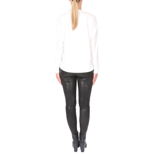T By Alexander Wang French Terry Long Sleeve Top