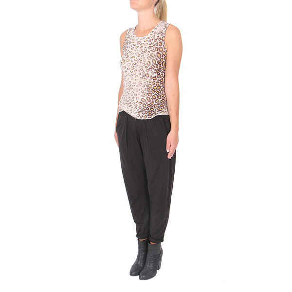 Raquel Allegra Muscle T in Leopard