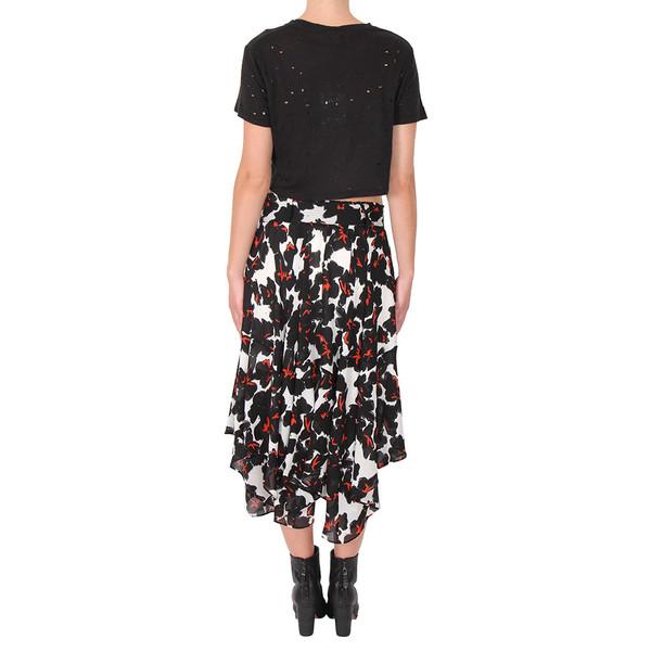 A.L.C. Nico Floral Silk Skirt