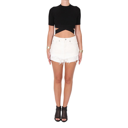 T By Alexander Wang Cross Over Top