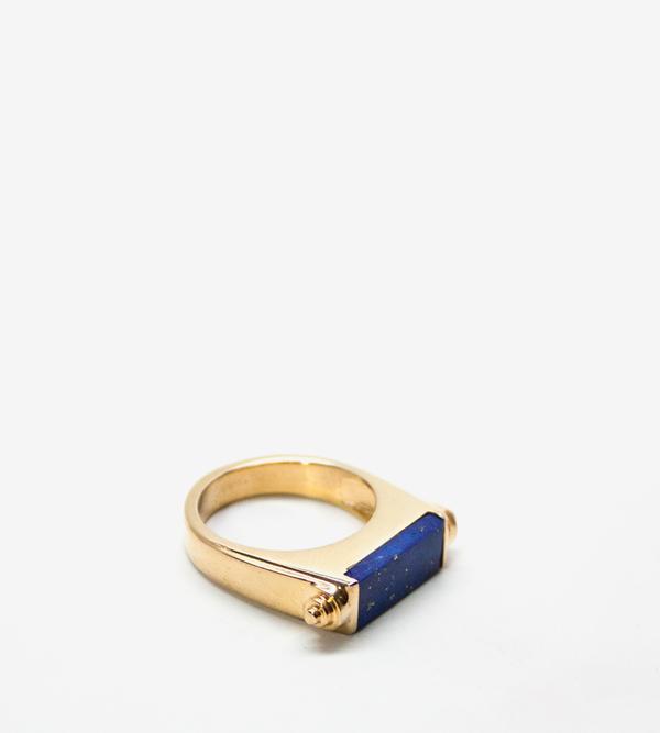 Luz Ortiz Nova Lapis Lazuli Ring