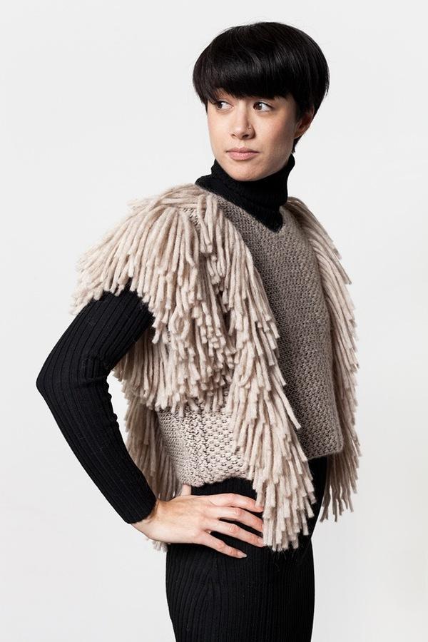 Rachel Comey Cropped Fringe Vest