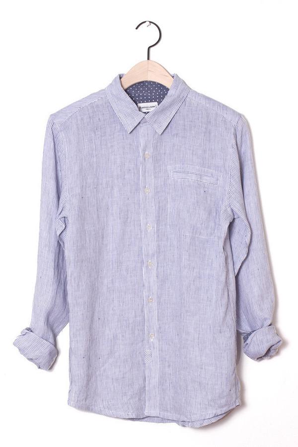 Men's Bridge & Burn Miller Pinstripe Shirt