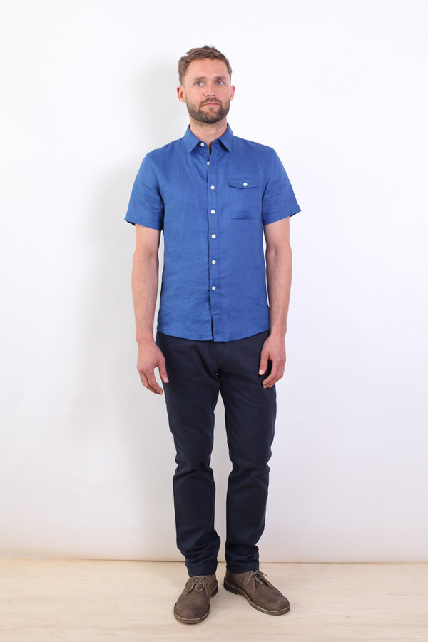 Men's Bridge & Burn Shore Linen Shirt