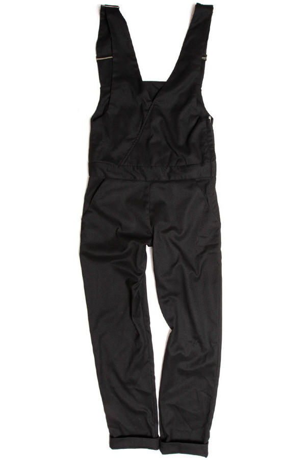 Bridge & Burn Penrose Black Overalls
