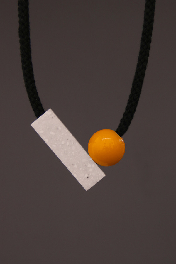 One We Made Earlier Josef Necklace Yellow