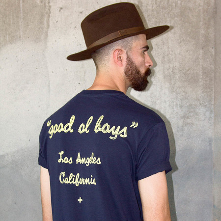 Men's Wolf & Man  Good O'l Boys T shirt