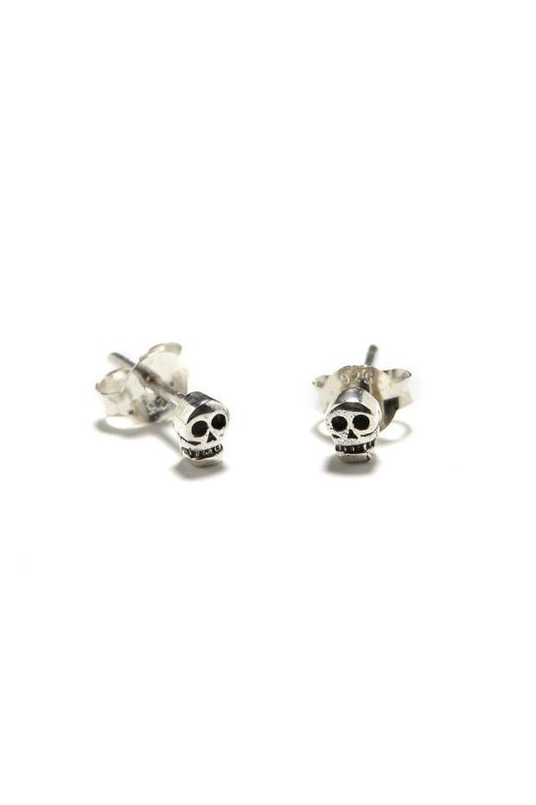 Bing Bang NYC Tiny Skull Studs