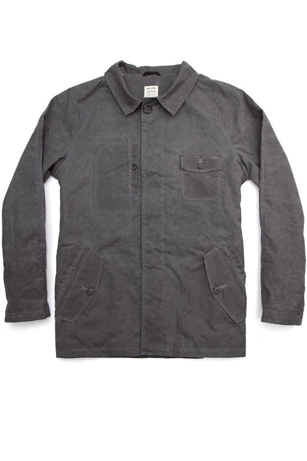 John Blasioli x Bridge & Burn Waxed Chore Coat