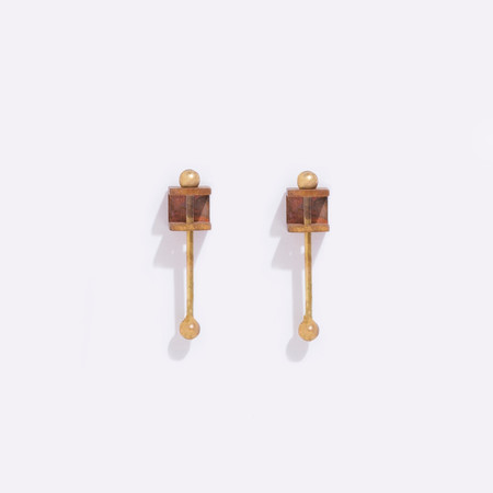 Metalepsis Projects Bar Box earrings