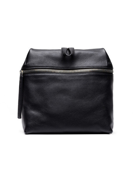 Kara Backpack Pebbled Black