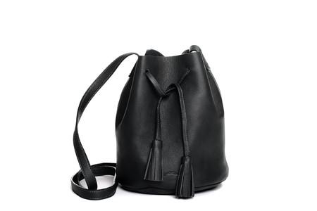 Shaffer Leather Medium Greta Bucket Bag