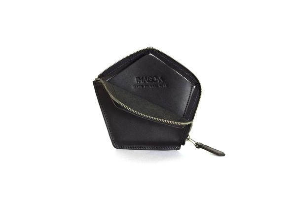 Nº22 Penta Wallet in Onyx and Black