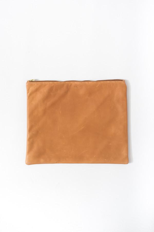 Baggu Large Flat Pouch / Saddle