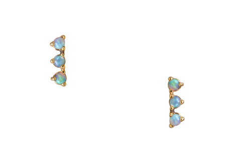WWAKE Three Step Opal Earring