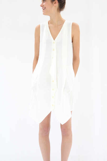 Prairie Underground Arrowhead Dress White