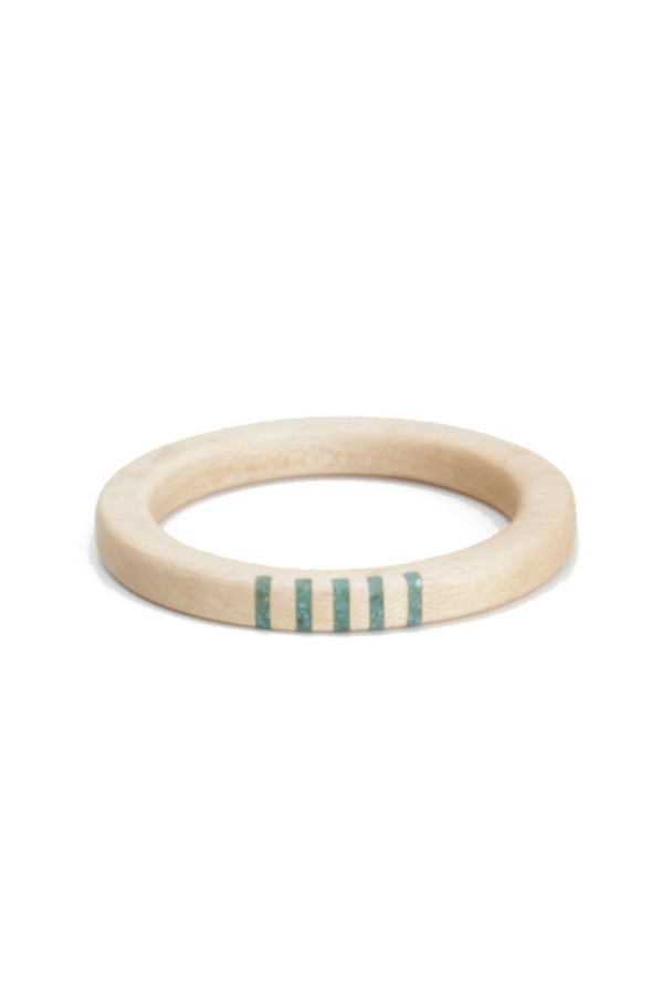 Parts Per MillionOregon Maple Five Stripe Bangle