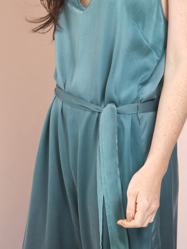 Calico x Swords-Smith x Print All Over Me Aurora Silk Jumpsuit