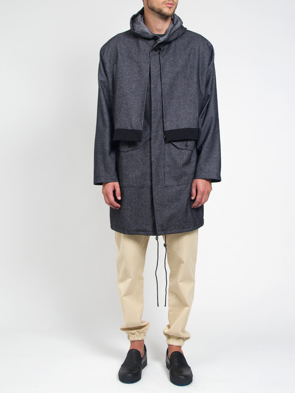 Men's House of the Very Islands Double Front Wool Parka
