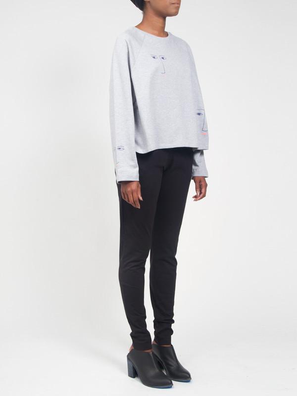 Kowtow Figurine Sweatshirt