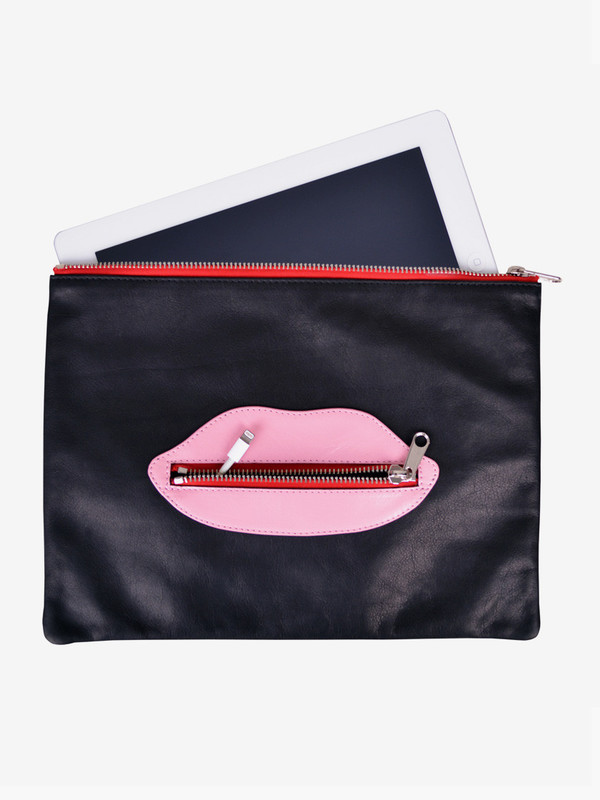 Welcome Companions Lips iPad Pouch