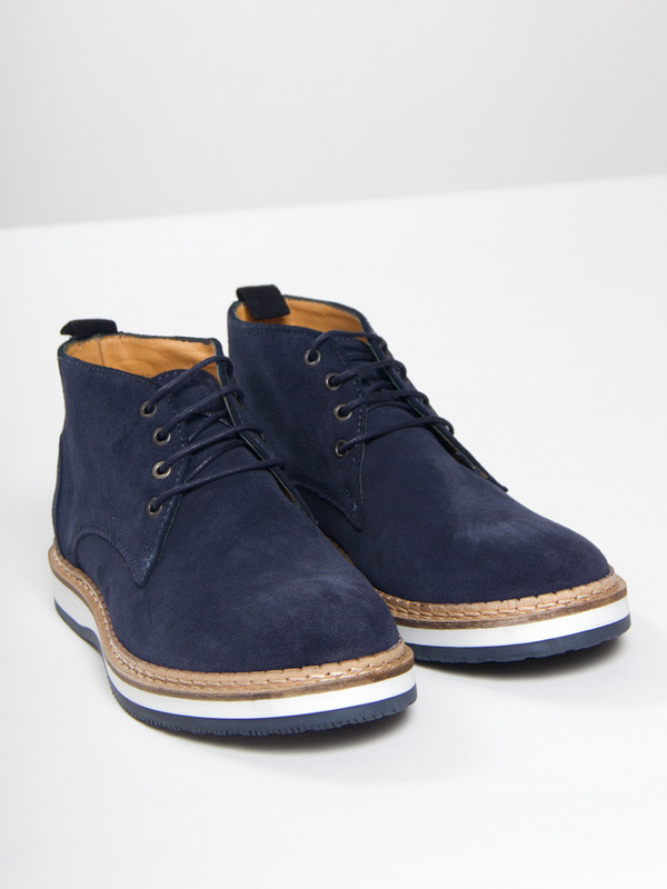 Navy Frimand Boot