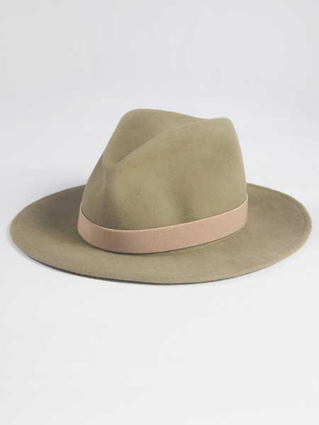 Yestadt Millinery Nomad Packable Taupe