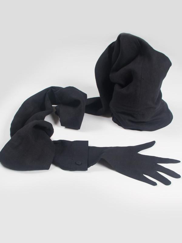 Sleeve Hat Black