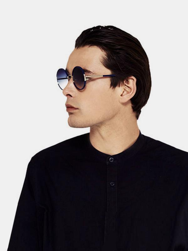 None Yetti Sunglasses Navy
