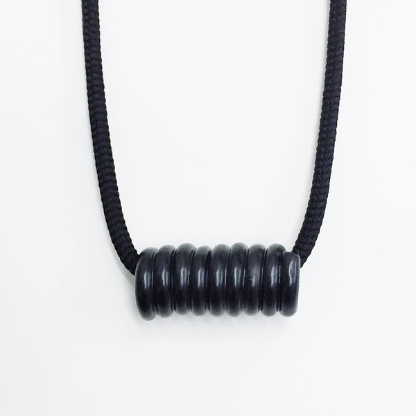 Aubrey Hornor Matte Coil Necklace