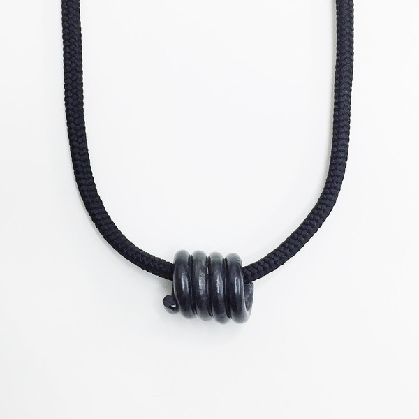 Aubrey Hornor Short Coil Necklace