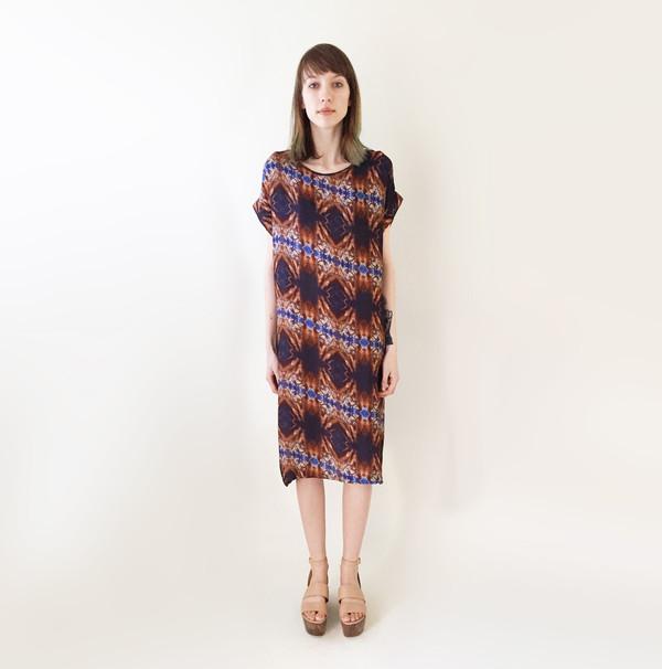 H Fredriksson Long Box Dress