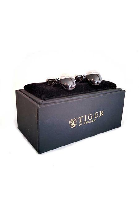 Men's Tiger of Sweden Tiger of Sweden Argento Cufflinks