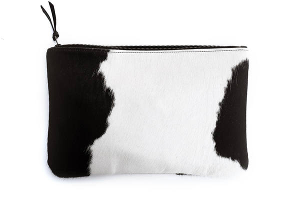 Primecut BLACK + WHITE OVERSIZED CLUTCH