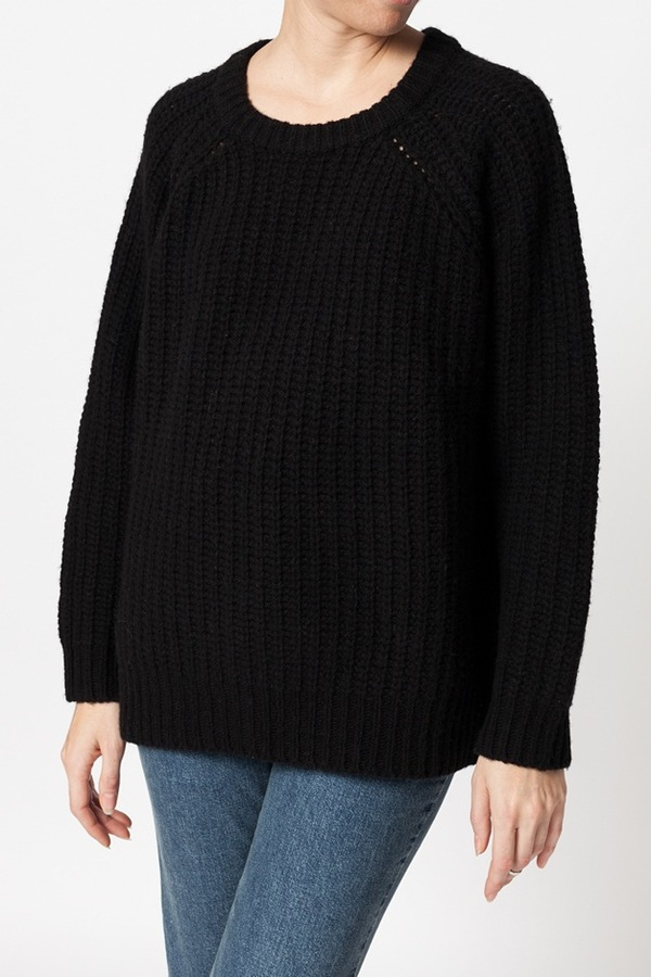 Ganni Chelsea Market Sweater - black