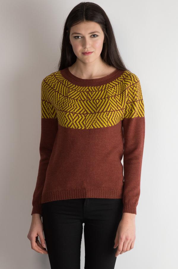 Erdaine Jacquard fair-isle sweater