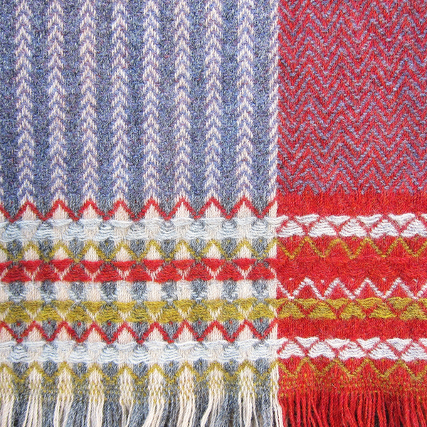 Wallace + Sewell shetland throws
