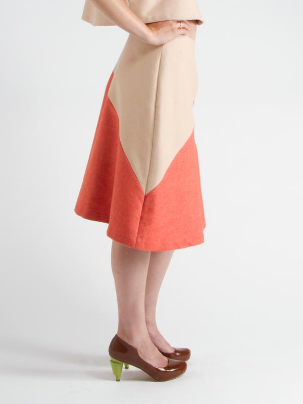 Swords-Smith Aslant Skirt