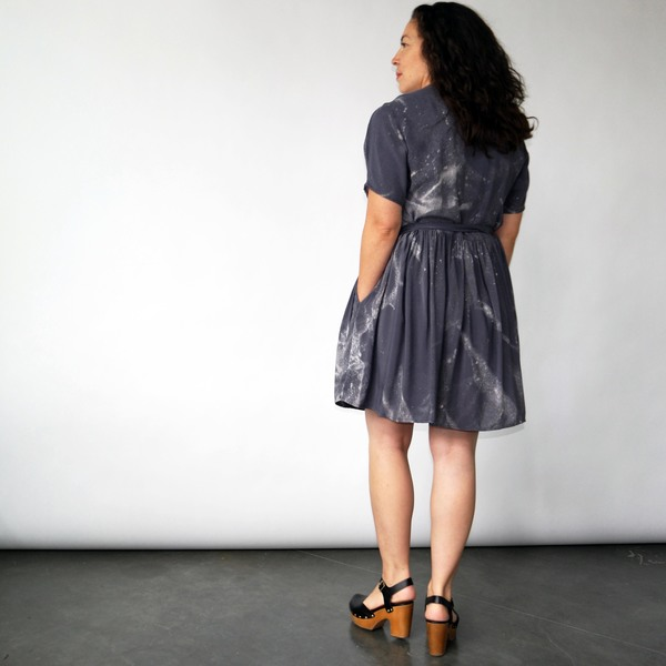 3rd Season Axis Wrap Dress