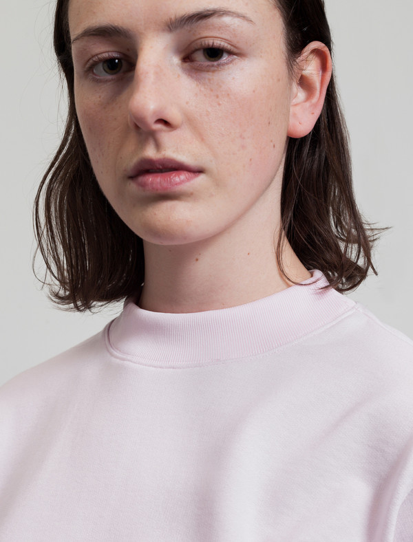 Acne Studios Bird Fleece Soft Pink