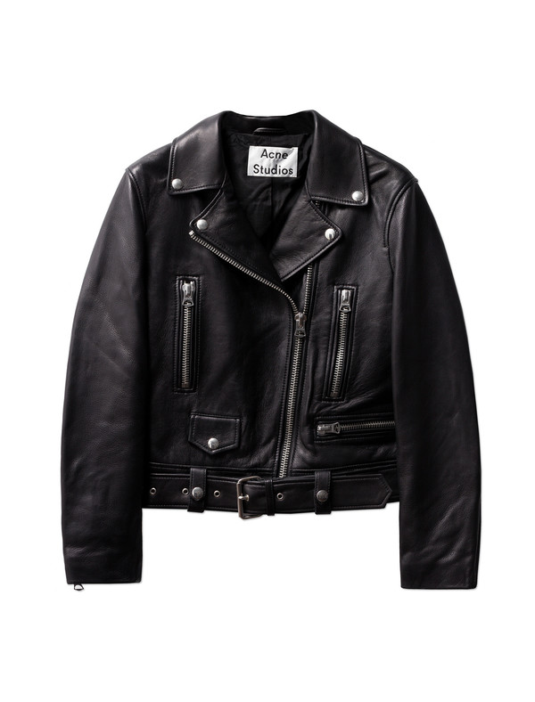 Acne Studios Mock Leather Black