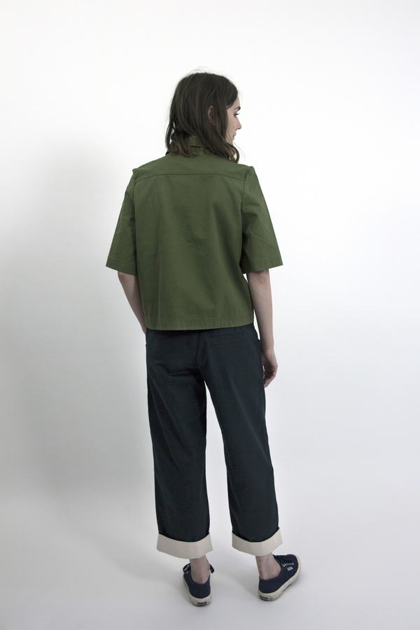 Feldt - Cotton Drill Zip Top