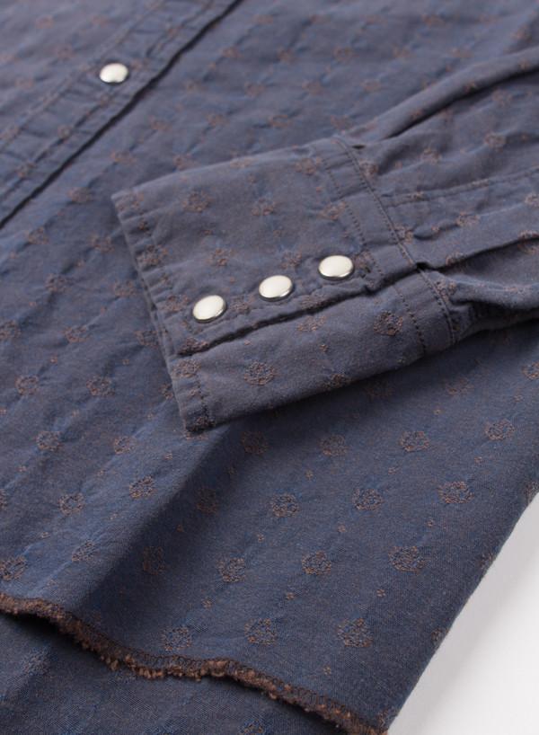 Men's Needles 3 Peaks Cowboy Shirt Polka Dot