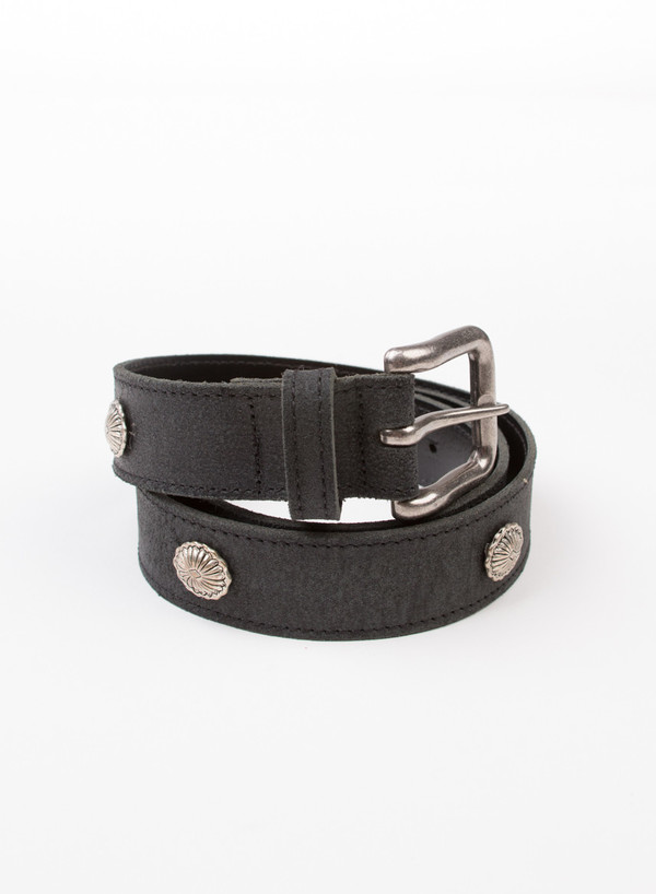 Men's MAPLE Concho Belt Black