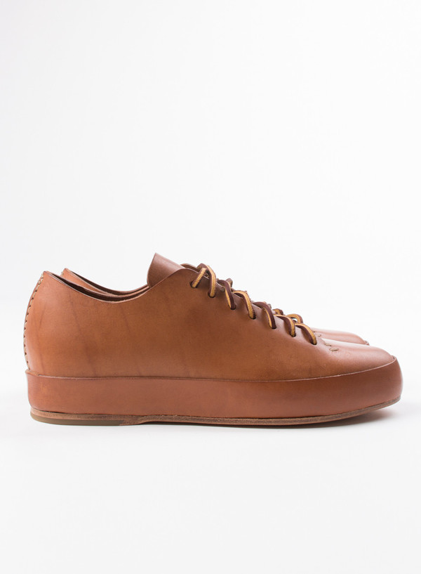 Men's FEIT Hand Sewn Low Cuoio
