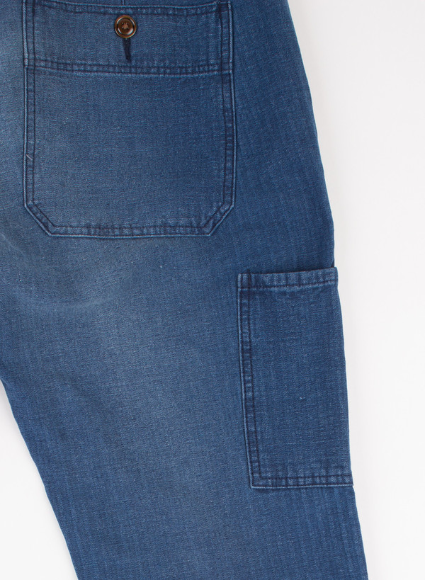 Men's Alex Mill Indigo Dock Pant