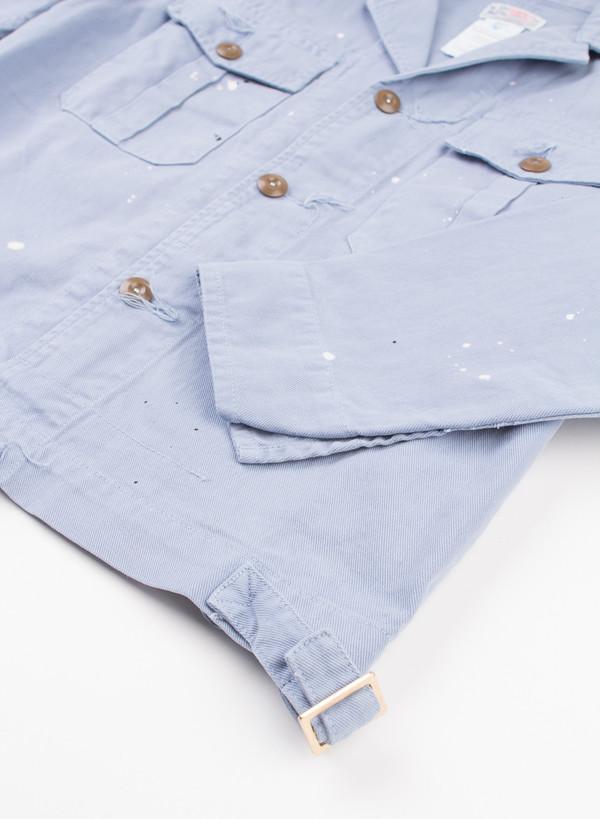 Men's Garbstore Maintenance Jacket Blue