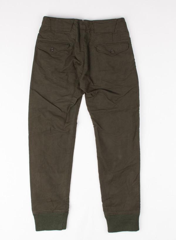 Men's Engineered Garments Shooting Pant Olive Moleskin