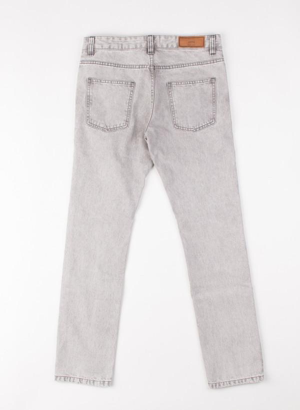 Men's AMI Alexandre Mattiusi Slim Fit 5 Pocket Jeans Acid Grey